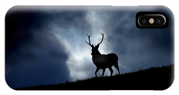 Stag Silhouette IPhone Case