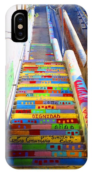 Stairway To Heaven Valparaiso  Chile IPhone Case