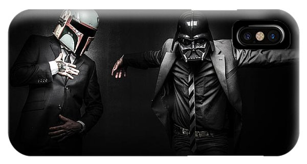 Storm iPhone Case - Starwars Suitup by Marino Flovent