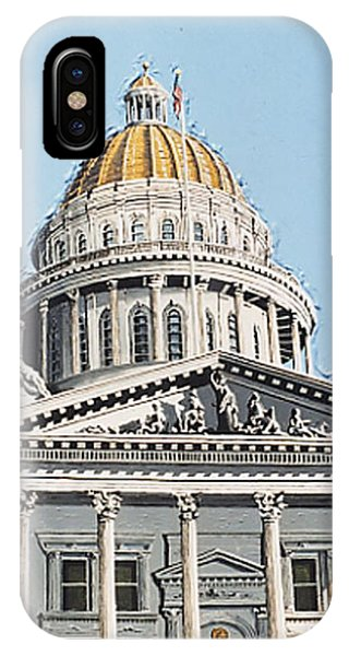 State Capitol Phone Case by Paul Guyer