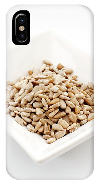 Sunflower Seeds iPhone Case - Sunflower Seeds by Geoff Kidd/science Photo Library