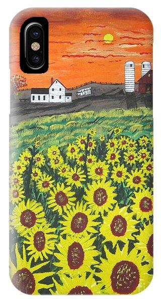 Sunflower Valley Farm IPhone Case