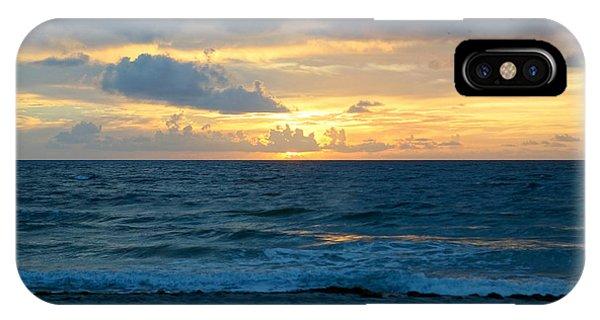 Sunrise In Deerfield Beach IPhone Case