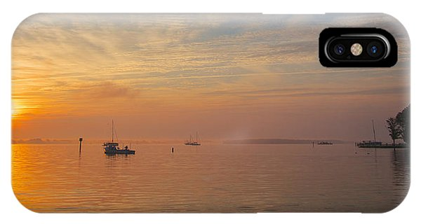 Sunrise On The Chesapeake Bay IPhone Case