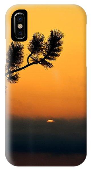 Sunset At Yosemite IPhone Case