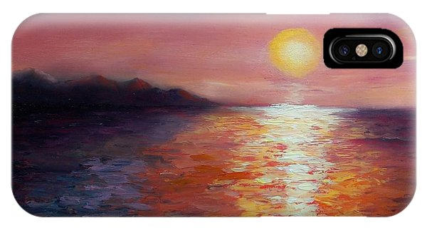 Sunset In Ixtapa IPhone Case