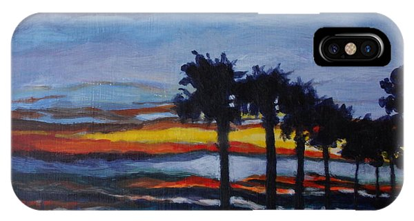 Sunset In St. Andrews IPhone Case