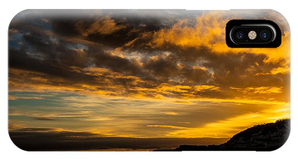 Sunset Over The Ocean  IPhone Case