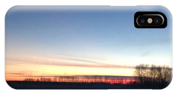 Sunset. IPhone Case