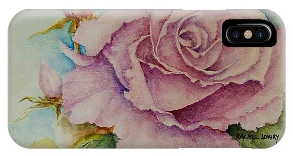 Susan's Rose IPhone Case