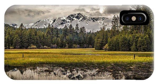 Tahoe Spring IPhone Case
