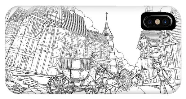 The Bavarian Village IPhone Case