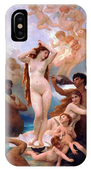 Venus Williams iPhone Case - The Birth Of Venus by William-Adolphe Bouguereau