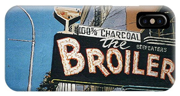 The Broiler On J Street Phone Case by Paul Guyer