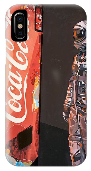 Space iPhone Case - The Coke Machine by Scott Listfield