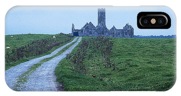 The Deserted Abbey Phone Case by Carl Purcell
