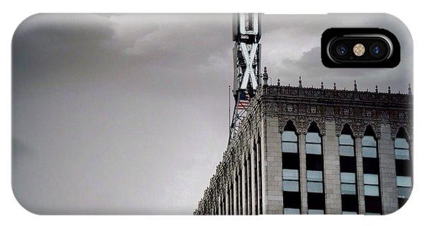 The Detroit Fox IPhone Case