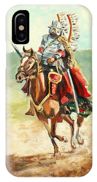 The Polish Winged Hussar IPhone Case