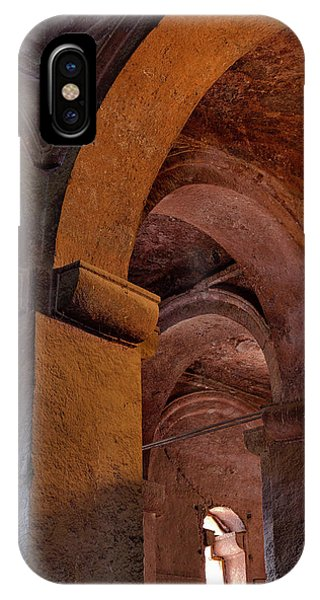 The Rock-hewn Churches Of Lalibela Phone Case by Martin Zwick