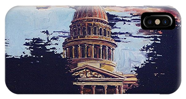 The State Capitol Phone Case by Paul Guyer