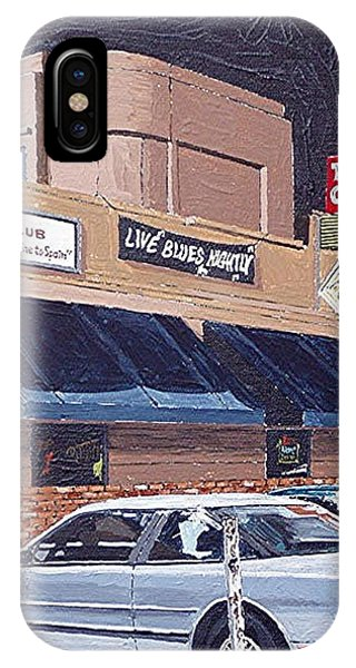 The Torch Club Phone Case by Paul Guyer
