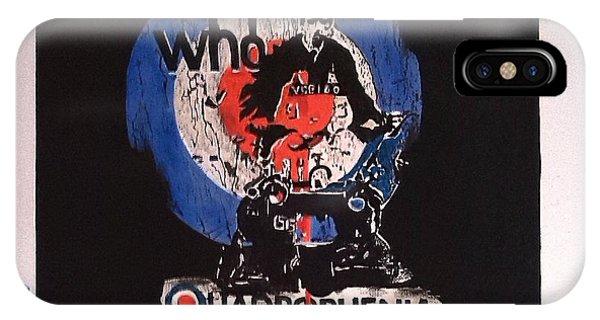 The Who - Quadrophenia Phone Case by Richard John Holden RA