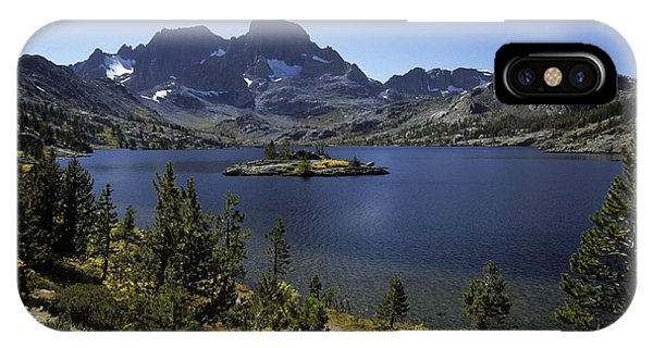 Thousand Islands Lake And Mt. Davis IPhone Case