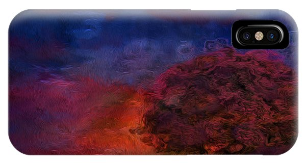 Visual Illusion iPhone Case - Through The Mist by Jack Zulli