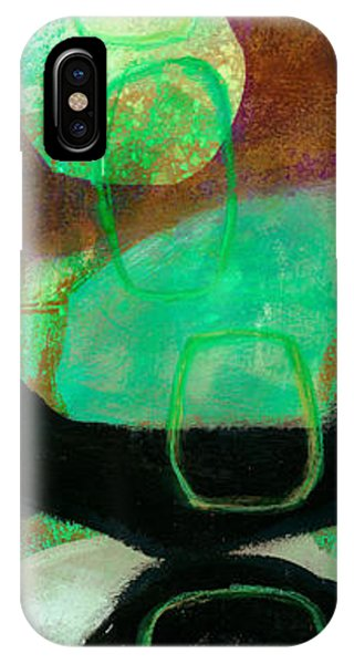 Drawing iPhone Case - Tidal Current 1 by Jane Davies