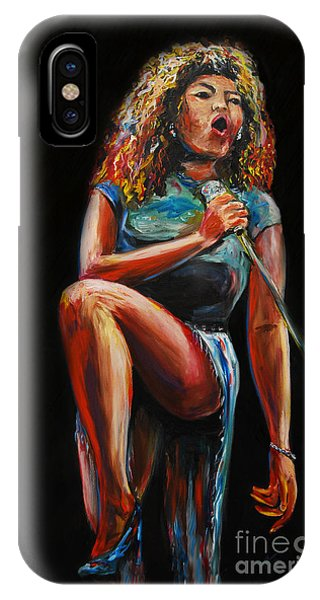 Tina Turner IPhone Case