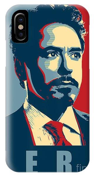 Ant iPhone Case - Tony Stark by Geek N Rock