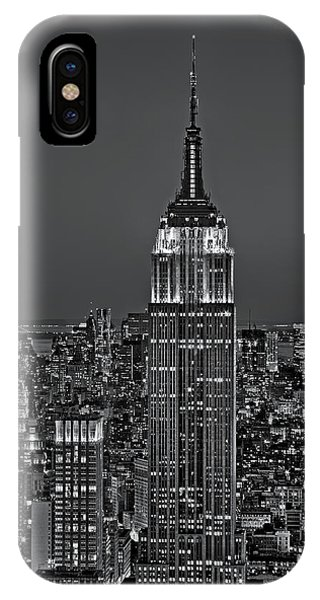 Top Of The Rock Bw IPhone Case
