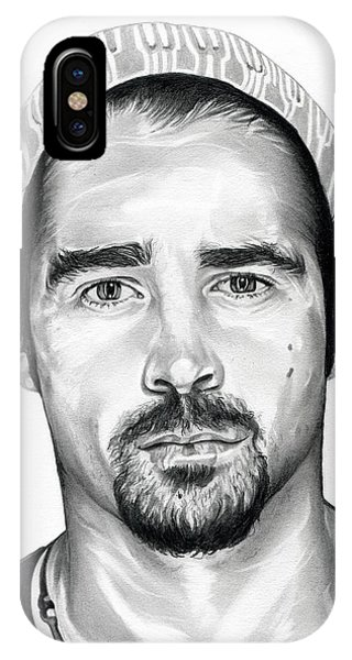 Total Recall  Colin Farrell IPhone Case