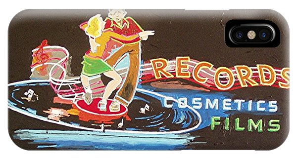 Tower Records Phone Case by Paul Guyer
