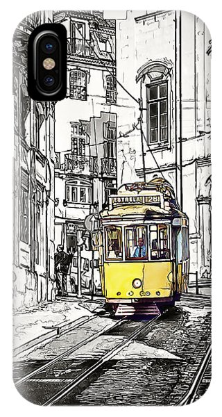 Lisbon Tram 28 IPhone Case