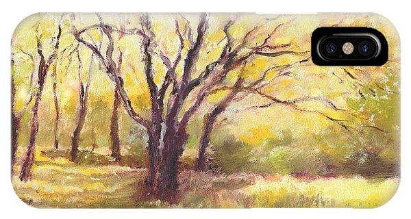 Trees2 IPhone Case