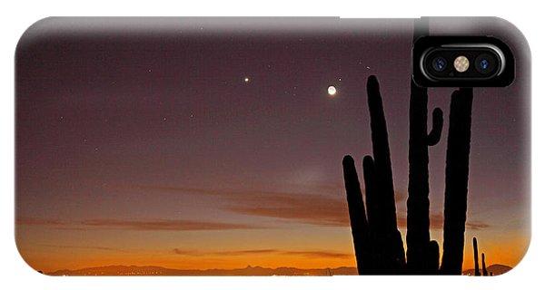 Tucson At Dusk IPhone Case