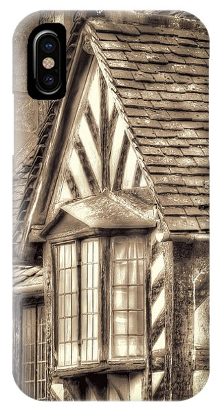 IPhone Case featuring the photograph Tudor Style Buildings by Susan Leonard