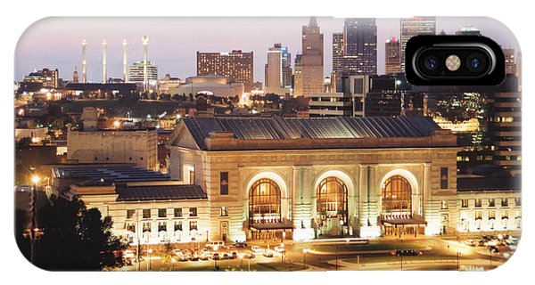 Union Station Evening IPhone Case