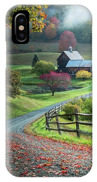 Fence iPhone Case - Untitled by David H Yang