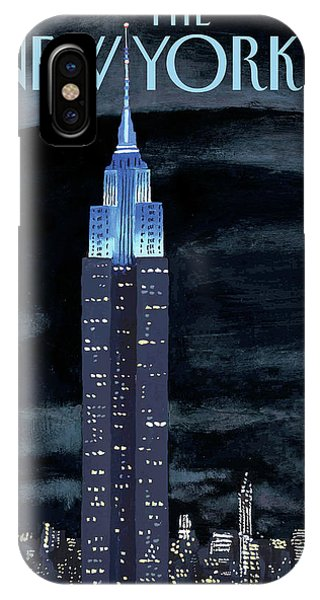 Urban iPhone Case - New Yorker November 19th, 2012 by Mark Ulriksen