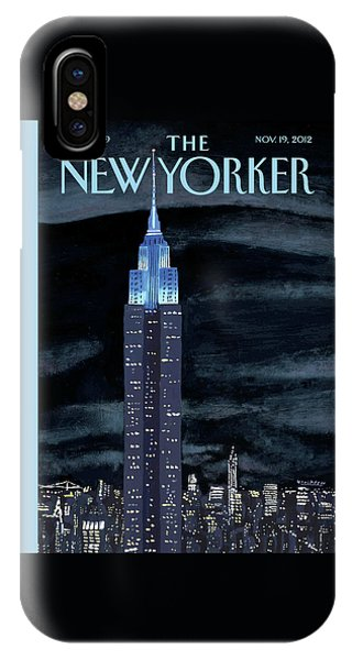 Empire iPhone Case - New Yorker November 19th, 2012 by Mark Ulriksen