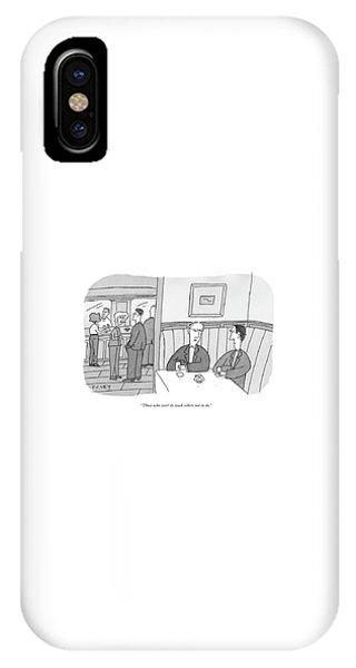 Those Who Can't Do Teach Others Not To Do IPhone Case