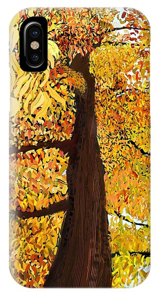 Up Tree IPhone Case