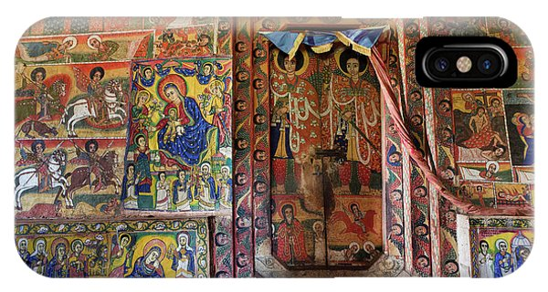 New Testament iPhone Case - Ura Kidane Meret Monastery, Lake Tana by Martin Zwick