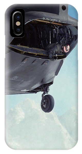 Kings Canyon iPhone Case - Usa, California, Chinook Search by Gerry Reynolds