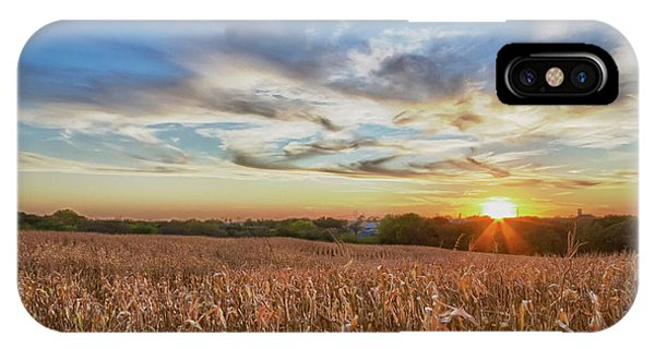 Usa, Nebraska, Near Omaha Phone Case by Christopher Reed