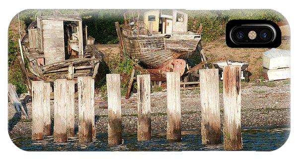 Orchard Beach iPhone Case - Usa, Wa, Puget Sound by Trish Drury