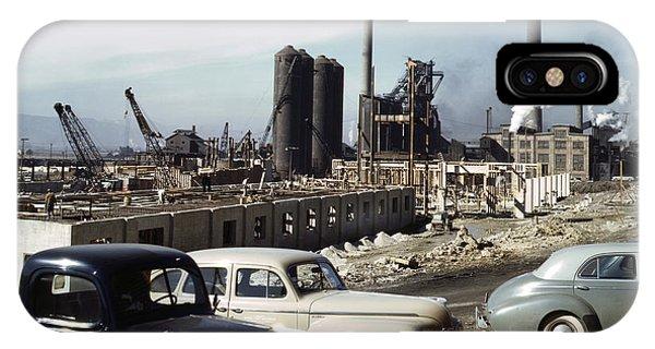 Utah Steel Mill, 1942 Phone Case by Granger