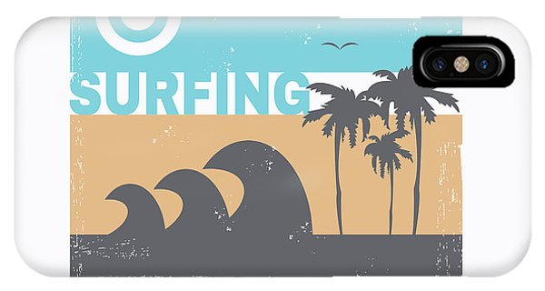 Sign iPhone Case - Vector Illustration On The Theme Of by Serge Geras